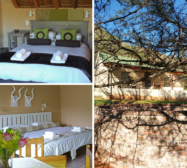 Rooms and cottage with braai