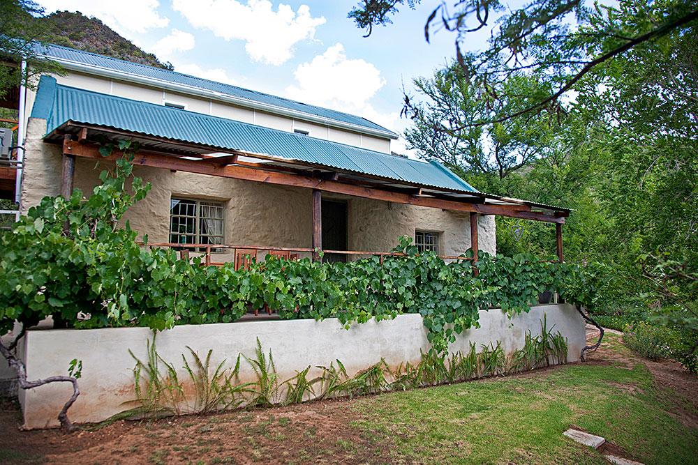 Karoo cottage bedroom