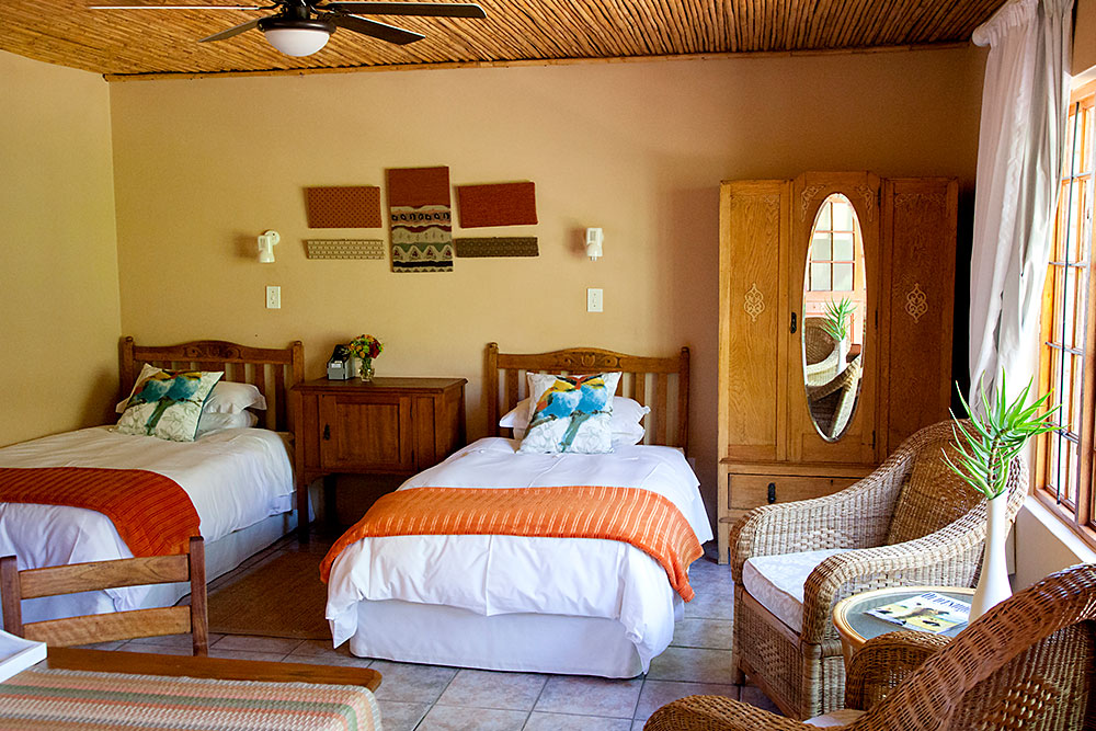 Twin Bed Accommodation